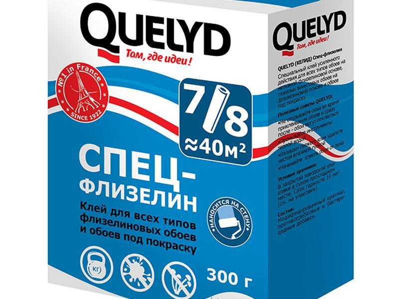 Quelyd СПЕЦ-ФЛИЗЕЛИН клей для флизелиновых обоев