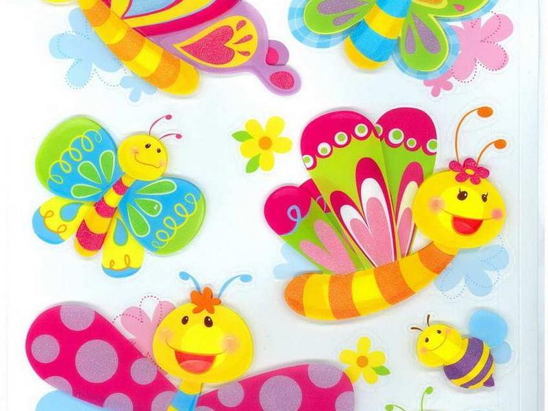 Веселые бабочки